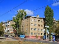 Волгоград, улица Кузнецова, дом 21. многоквартирный дом