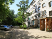 Volgograd, st Bystrov, house 84. Apartment house