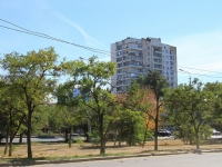 Волгоград, улица Курчатова, дом 18. многоквартирный дом