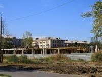 Волгоград, улица Курчатова. строящееся здание