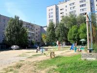 Волгоград, улица Федотова, дом 4. многоквартирный дом