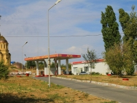Волгоград, улица Маршала Ерёменко, дом 7Г. автозаправочная станция