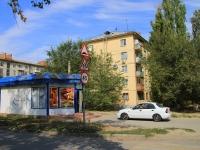 Волгоград, улица Петра Гончарова, дом 1. многоквартирный дом