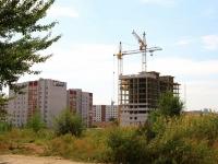 Волгоград, улица Нестерова, дом 16. строящееся здание