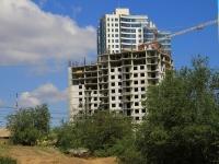 Волгоград, улица Селенгинская, дом 11. строящееся здание