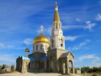 Волжский, улица Набережная, дом 12Б. приход Православный Приход храма Иоанна Богослова
