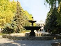 Волжский, улица Фонтанная. фонтан На Фонтанной, 5