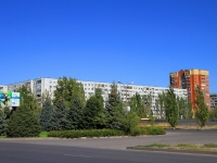 Волжский, улица Александрова, дом  17. многоквартирный дом