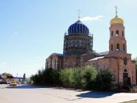 Городище, площадь Павших Борцов, дом 7. храм Богородицы Всех скорбящих радости