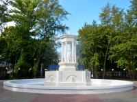 """улица Чайковского. фонтан """"В парке Орленок"""""""