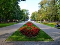 улица Чайковского. парк