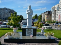 улица Маршала Жукова. памятник