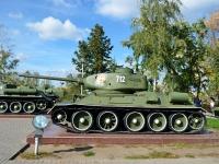 Воронеж, Ленинский проспект. монумент Танк Т-34