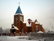 Religious building of Bratsk