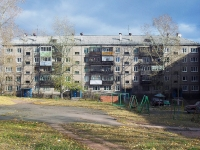 Bratsk, Karl Marks st, 房屋 10. 公寓楼