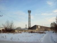 Братск, улица Спортивная, дом 5. стадион Локомотив