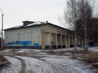 Братск, улица Спортивная, дом 6В. неиспользуемое здание