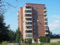 Bratsk, st Sportivnaya, house 8. Apartment house