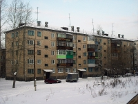 Bratsk, st Tsentralnaya, house 12. Apartment house