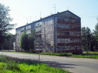Bratsk, st Tsentralnaya, house 31. Apartment house