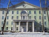 Bratsk, 医院 Братская городская больница №3, ОГАУЗ, Malo-amurskaya st, 房屋 71