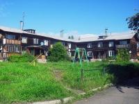 Bratsk, st Snezhnaya, house 12. Apartment house