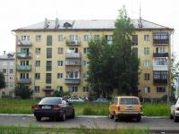 Bratsk, Makarenko st, 房屋 4. 公寓楼