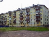 Братск, улица Макаренко, дом 6. многоквартирный дом