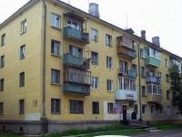 Братск, улица Макаренко, дом 18. многоквартирный дом