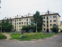 Братск, улица Макаренко, дом 20. многоквартирный дом