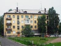 Братск, улица Макаренко, дом 26. многоквартирный дом