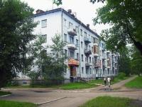 Братск, улица Погодаева, дом 10. многоквартирный дом