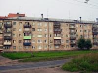 Братск, улица Приморская, дом 10. многоквартирный дом