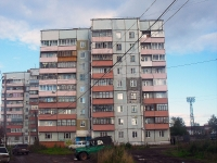 Bratsk, st Volodarsky, house 17. Apartment house