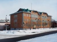 Bratsk, 购物中心 Байкал, Parkovaya st, 房屋 12