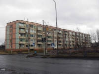 Vikhorevka, st Gorky, house 2. Apartment house