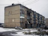 Вихоревка, улица Горького, дом 10. многоквартирный дом