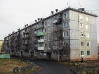 Vikhorevka, Gorky st, house 11. Apartment house