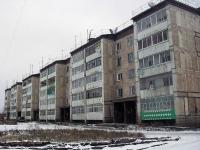 Vikhorevka, Gorky st, house 15. Apartment house
