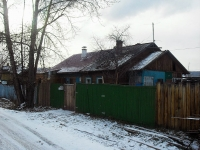 Vikhorevka, st Kalinin, house 7. Private house