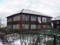 Вихоревка, улица Комсомольская, дом 1. многоквартирный дом