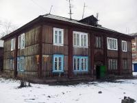 Вихоревка, улица Комсомольская, дом 8. многоквартирный дом