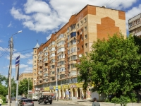 Kaluga, Plekhanov st, house 41. Apartment house with a store on the ground-floor