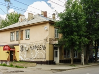 Kaluga, Ryleev st, house 36. Apartment house with a store on the ground-floor