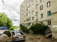 Kaluga, Saltykov-Shchedrin st, house 51. Apartment house with a store on the ground-floor
