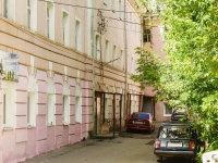 Kaluga, Saltykov-Shchedrin st, house 91. Apartment house with a store on the ground-floor