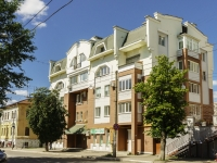 Kaluga, Akademik Korolev st, house 27. Apartment house with a store on the ground-floor