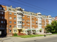 Kaluga, Akademik Korolev st, house 49. Apartment house with a store on the ground-floor