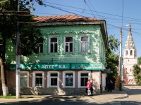 Kaluga, st Bauman, house 17. Apartment house with a store on the ground-floor