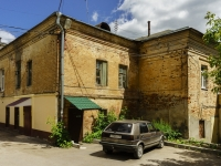 Kaluga, Starichkov alley, house 16/10. Apartment house with a store on the ground-floor